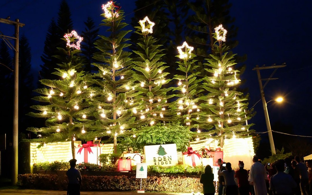 Eden Ridge Welcomes a #merriERchristmas with a Brilliant Display