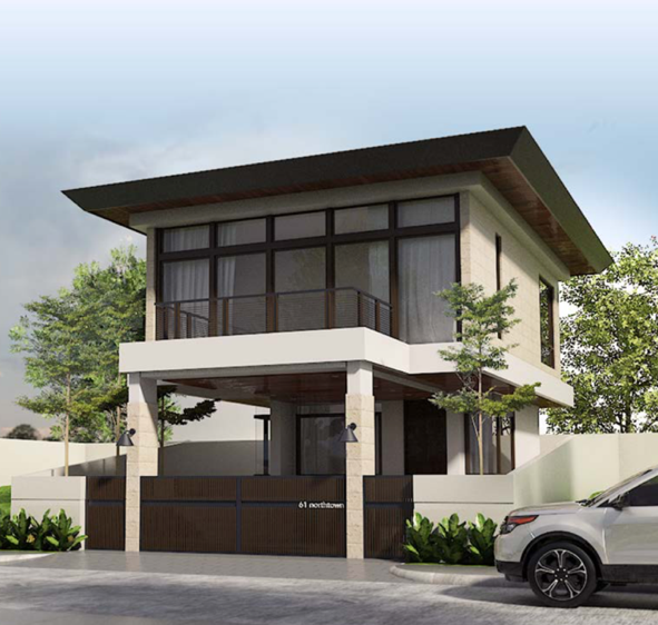Understated elegance is a hallmark of Tropical Contemporary design Concept design by K+C Architects